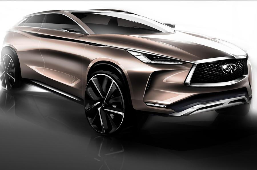Infiniti reveals QX50 Concept SUV