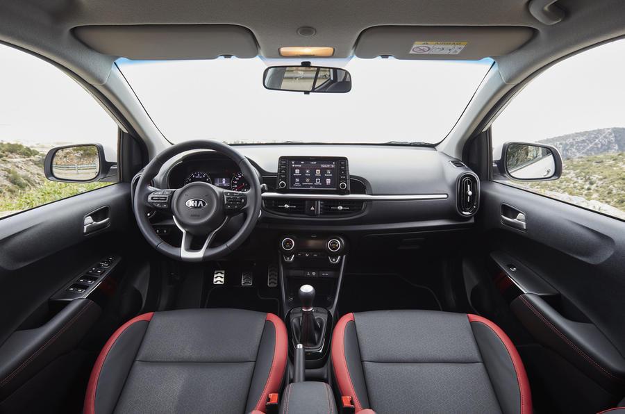 Kia Picanto GT dashboard