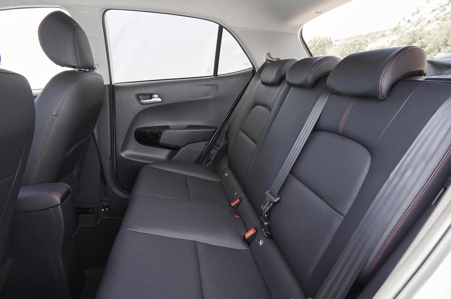 Kia Picanto GT rear seats