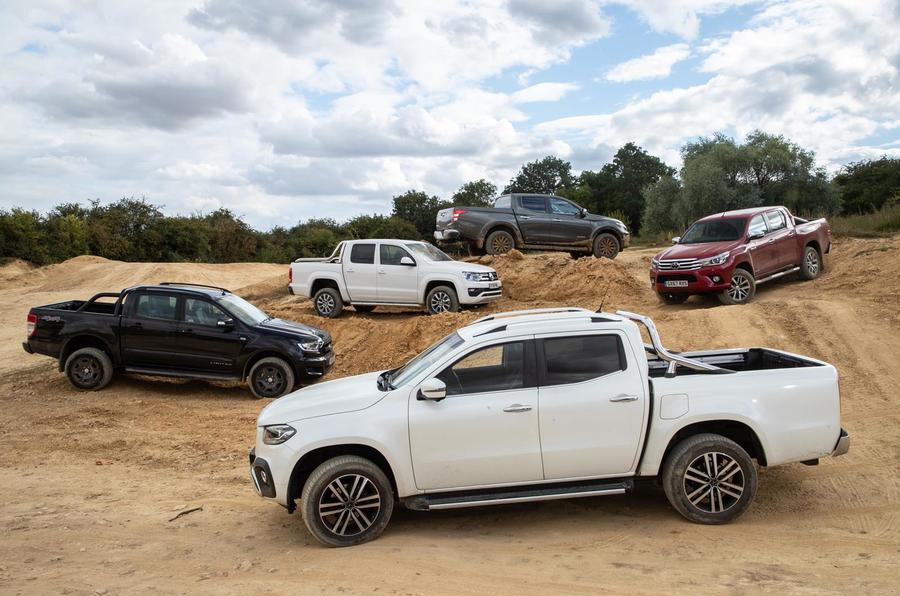 Pick-up mega-test: Mercedes-Benz X-Class vs rivals