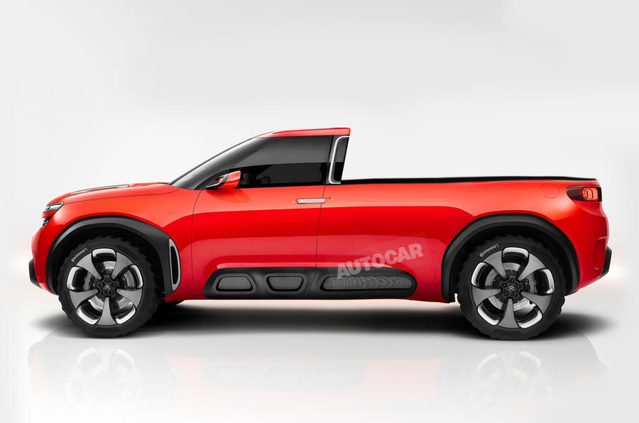PSA Group partners Changan for pickup truck