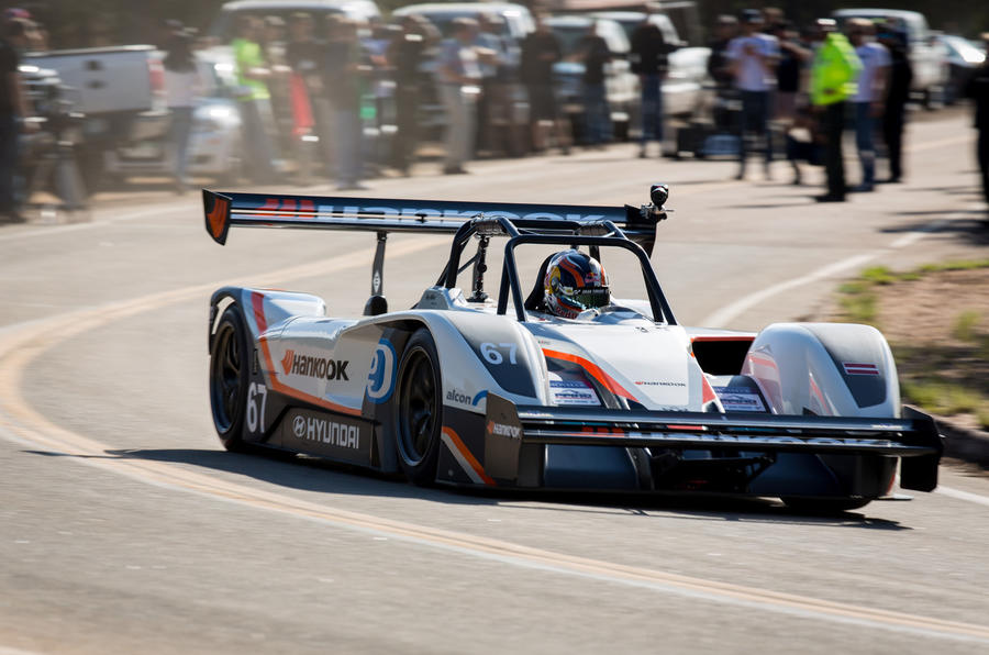 why volkswagen 39 s pikes peak entry is an inspired move autocar. Black Bedroom Furniture Sets. Home Design Ideas