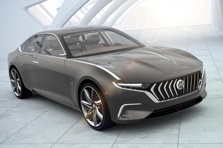 Pininfarina H600 front