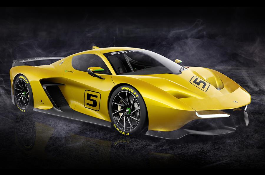 600bhp Pininfarina Fittipaldi EF7 track car revealed | Autocar