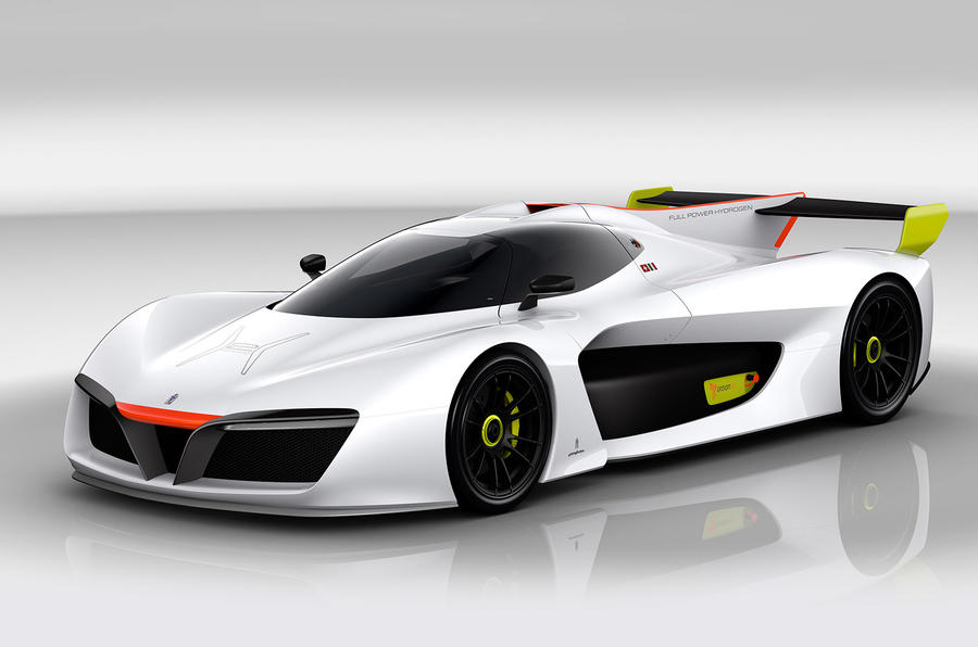 Electric Sports Car >> Pininfarina H2 Speed - hydrogen sports car revealed at Geneva | Autocar