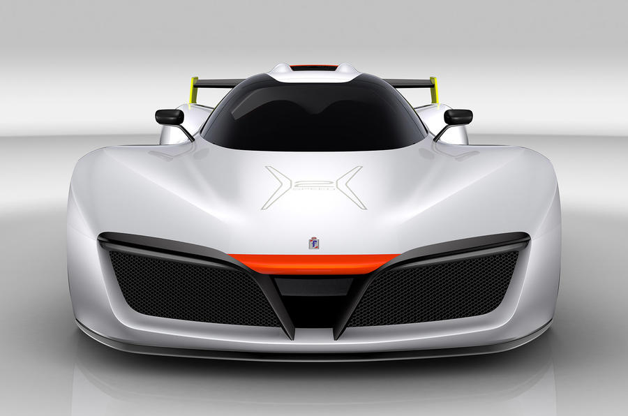 Pininfarina H2 Speed Hydrogen Sports Car Revealed At