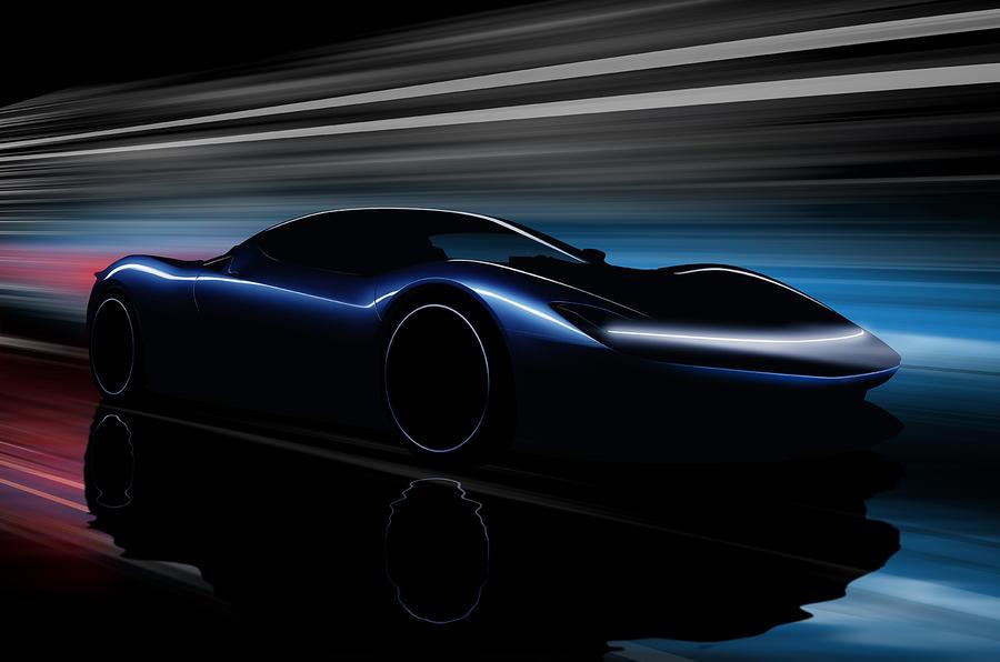 Pininfarina PF0 design sketch