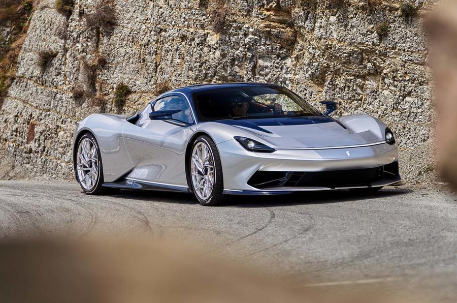 Pininfarina Battista: 1900bhp EV hits the road in new images