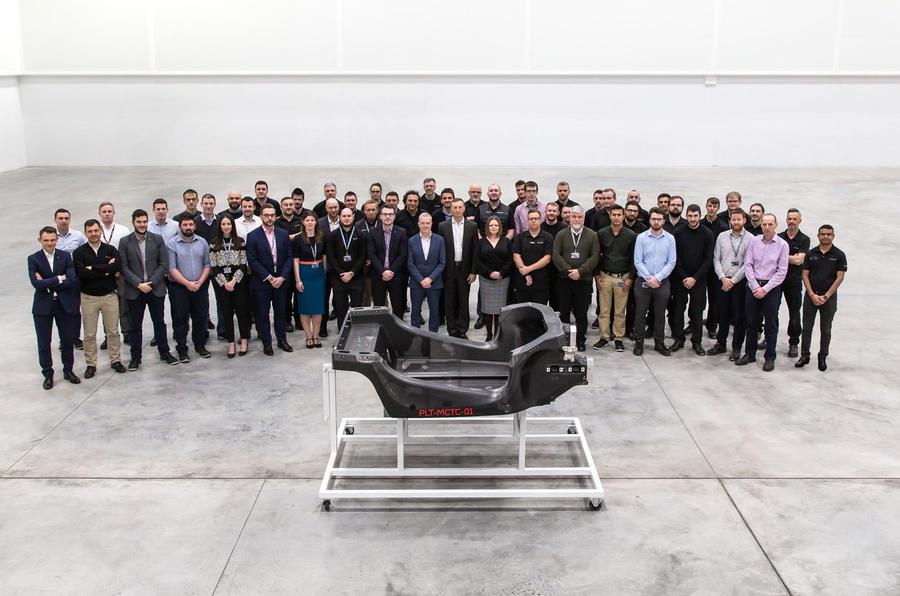 McLaren Composites Technology Centre Sheffield