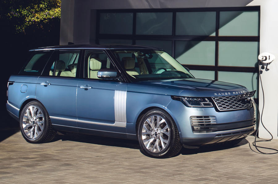Plug-in hybrid Range Rover