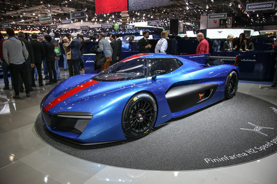 Pininfarina H2 Speed Concept: Pininfarina H2 Speed Concept To Enter Production As Track