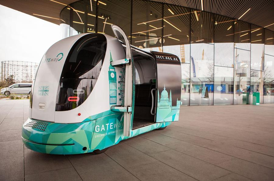 Autonomous Shuttle Bus Trial To Commence In London Autocar