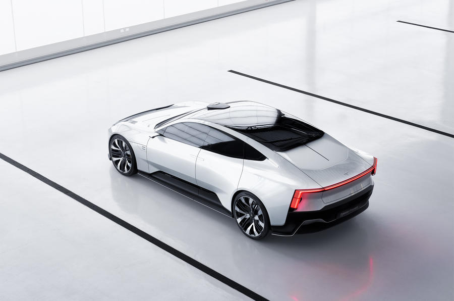 Polestar Precept side high new