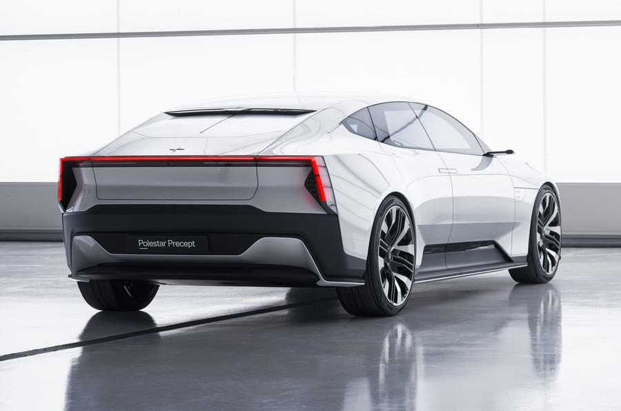 Polestar Precept rear side new