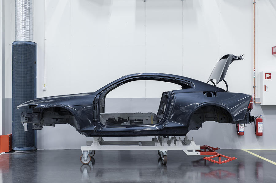 Polestar 1 prototypes enter production