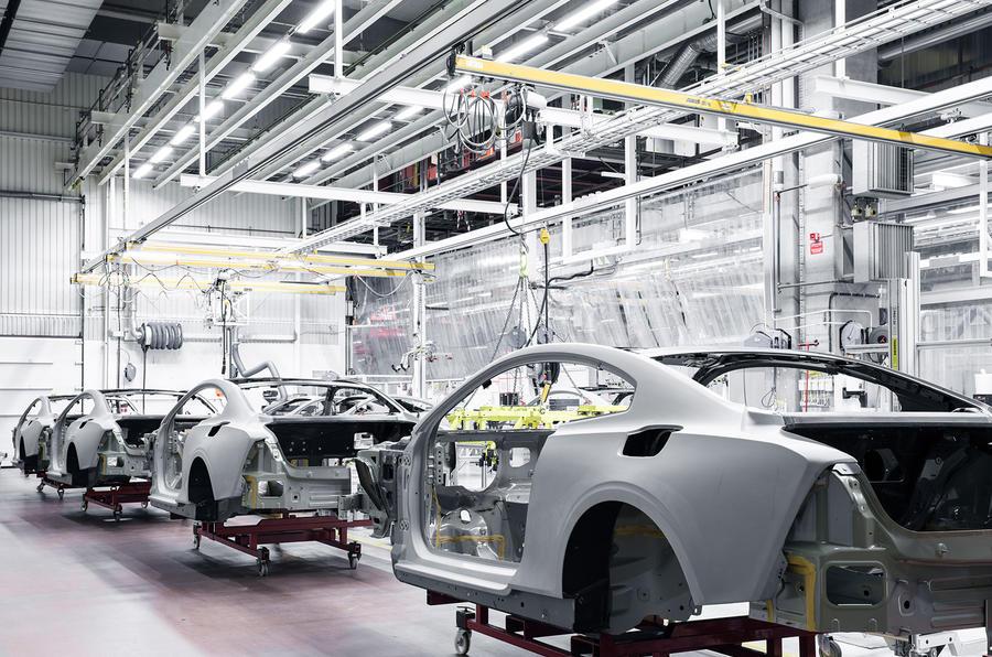Polestar 1 prototypes enter production