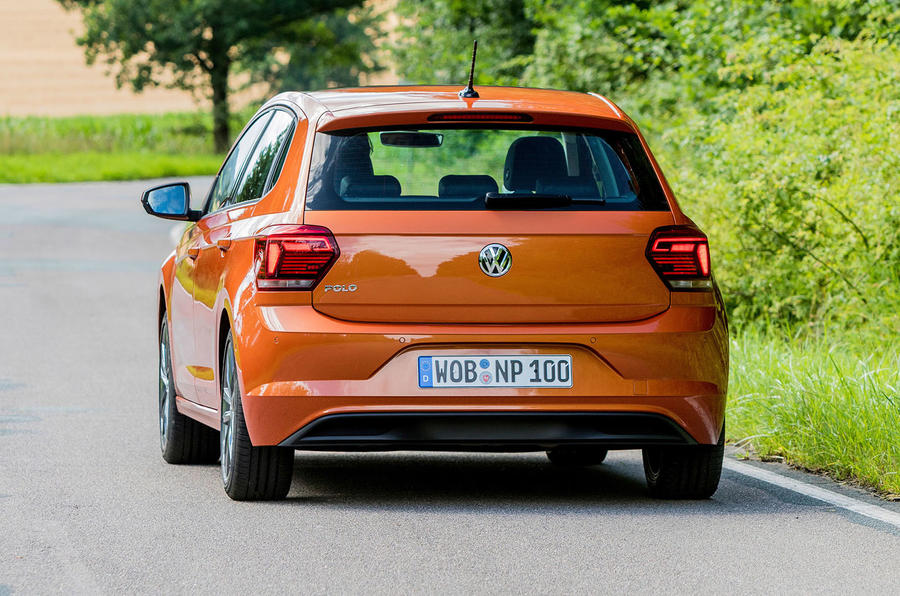 Volkswagen Polo rear end