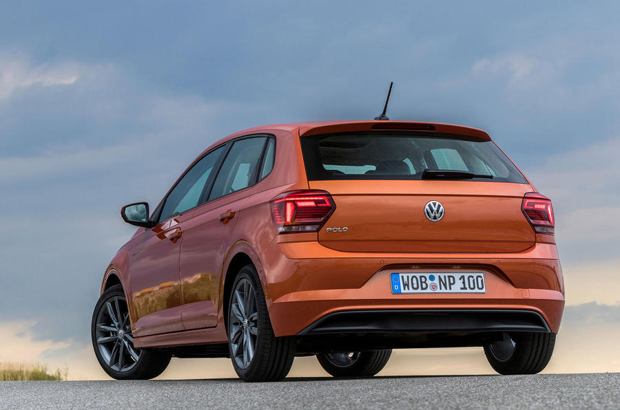 Volkswagen Polo rear quarter