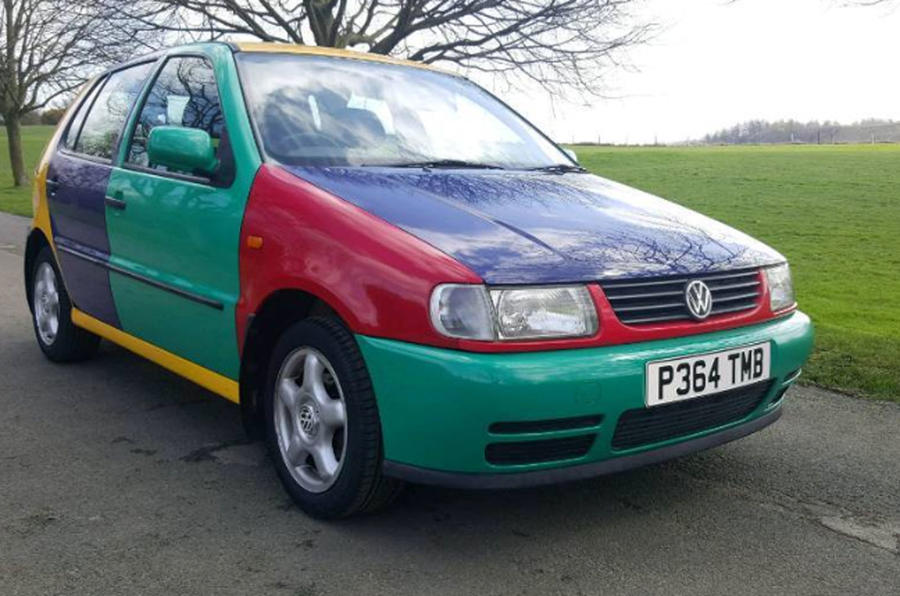 VW Polo Harlequin