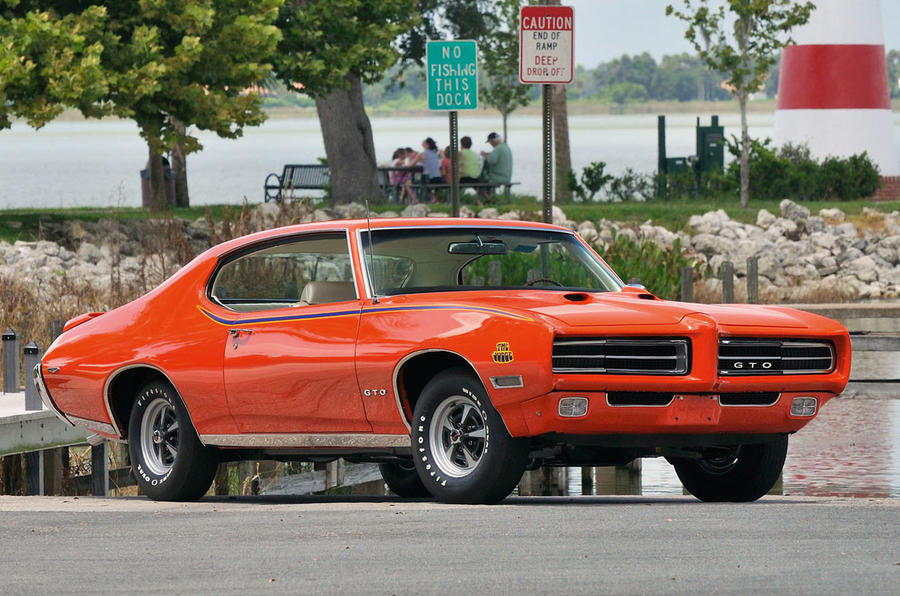 54: 1969 Pontiac GTO Judge
