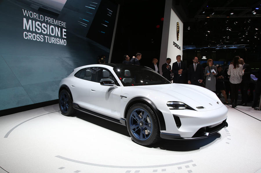 Porsche Mission E Cross Turismo concept breaks cover