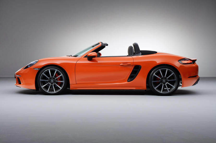 2016 Porsche 718 Boxster Revealed Autocar