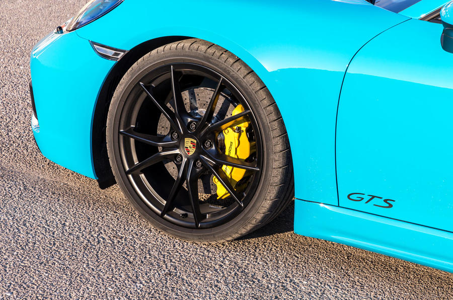 Porsche 718 Boxster GTS alloy wheels