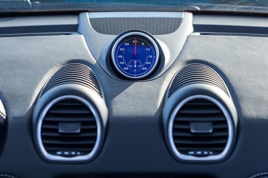 Porsche 718 Boxster GTS chronography