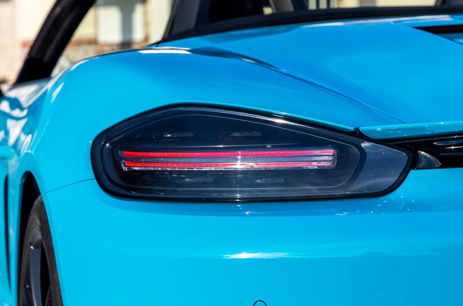 Porsche 718 Boxster GTS rear light