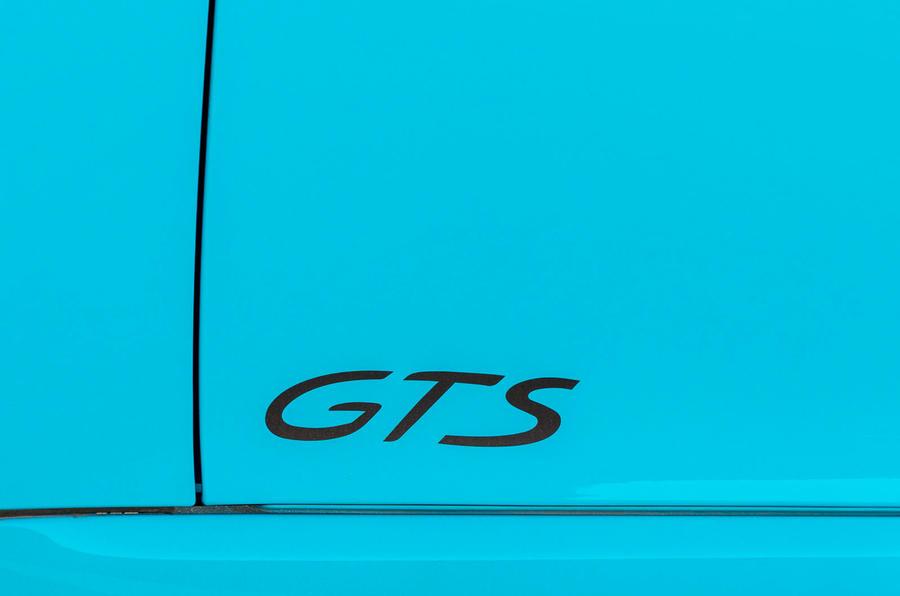 Porsche 718 Boxster GTS stickers