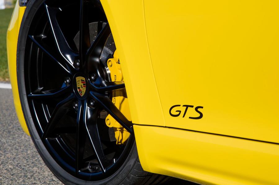 Porsche 718 Cayman GTS stickers