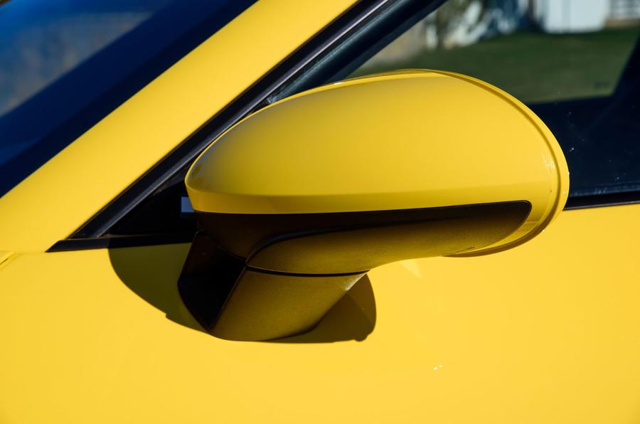 Porsche 718 Cayman GTS wing mirrors