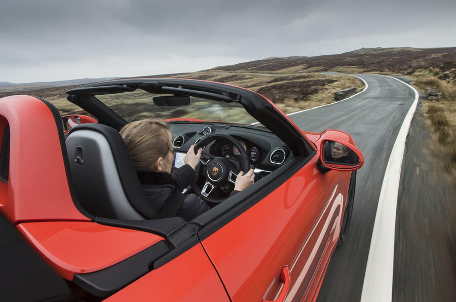 Driving the Porsche Boxster