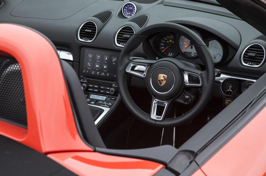 Porsche Boxster cabin