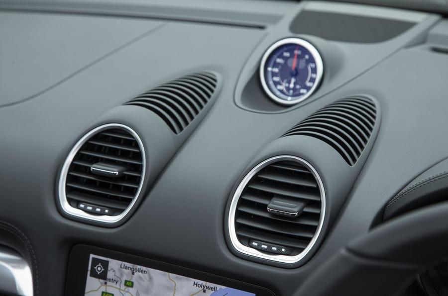 Porsche Boxster air vents