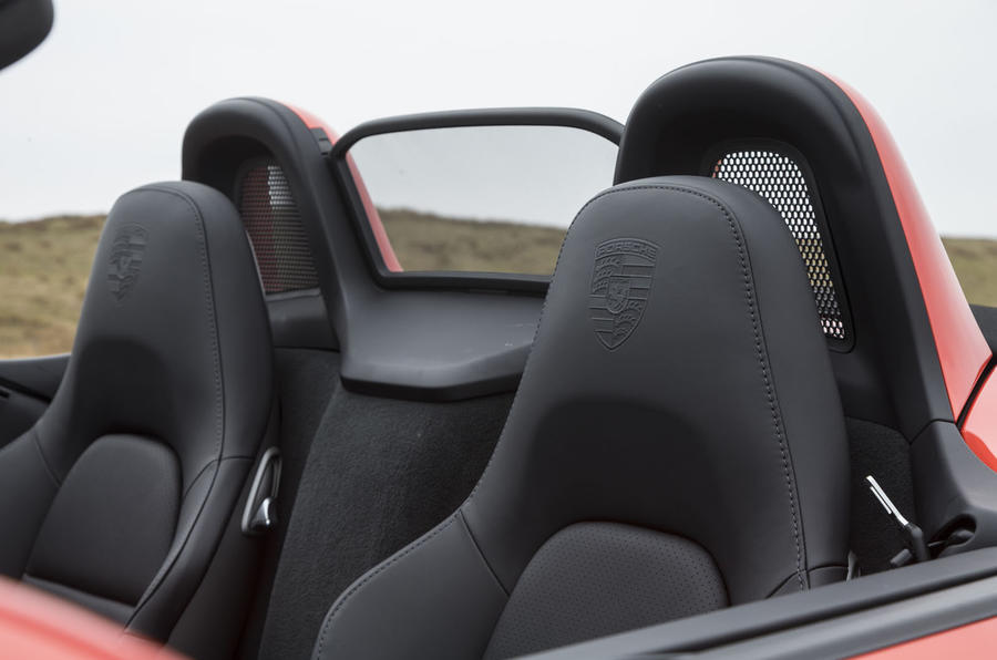 Porsche Boxster sport seats