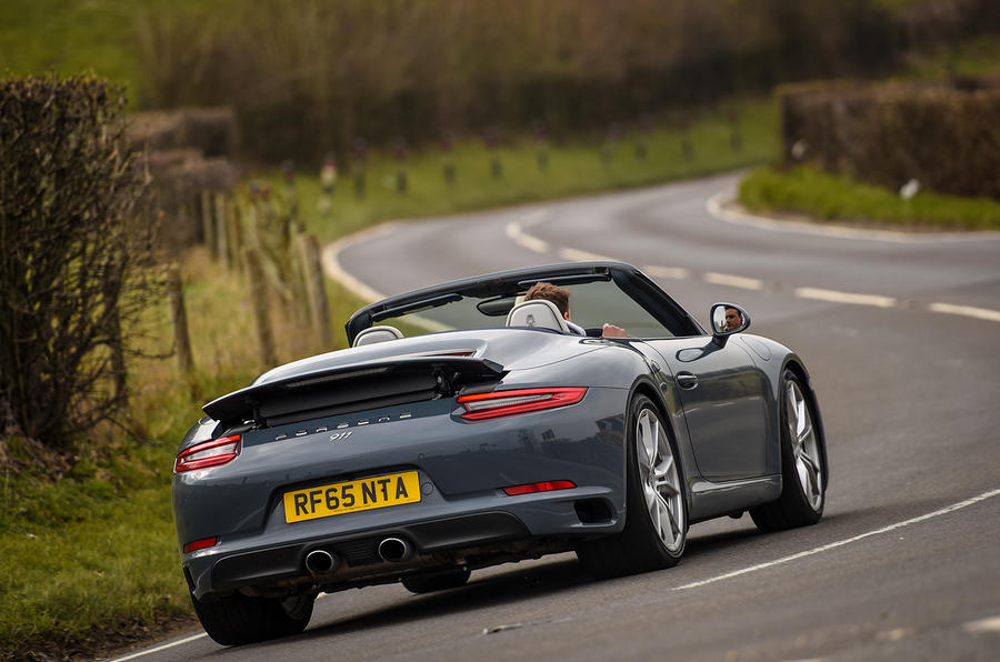 2016 porsche 911 carrera s cabriolet review autocar. Black Bedroom Furniture Sets. Home Design Ideas