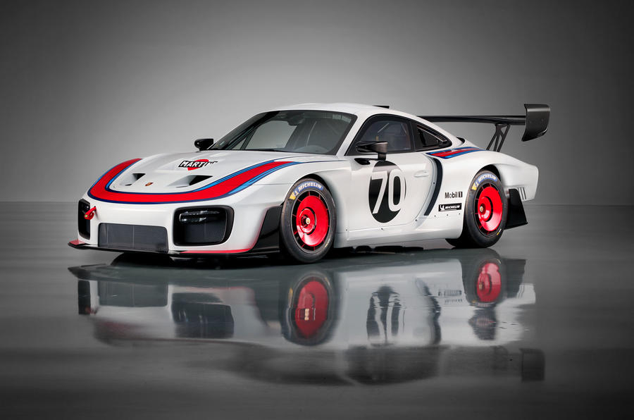 Porsche unveils new 935 racer at Rennsport Reunion