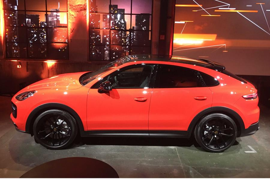 Porsche Cayenne Coupe side profile