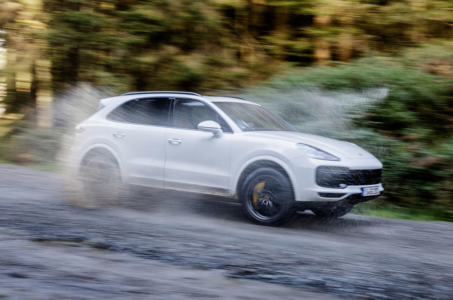 Porsche Cayenne Turbo off-road