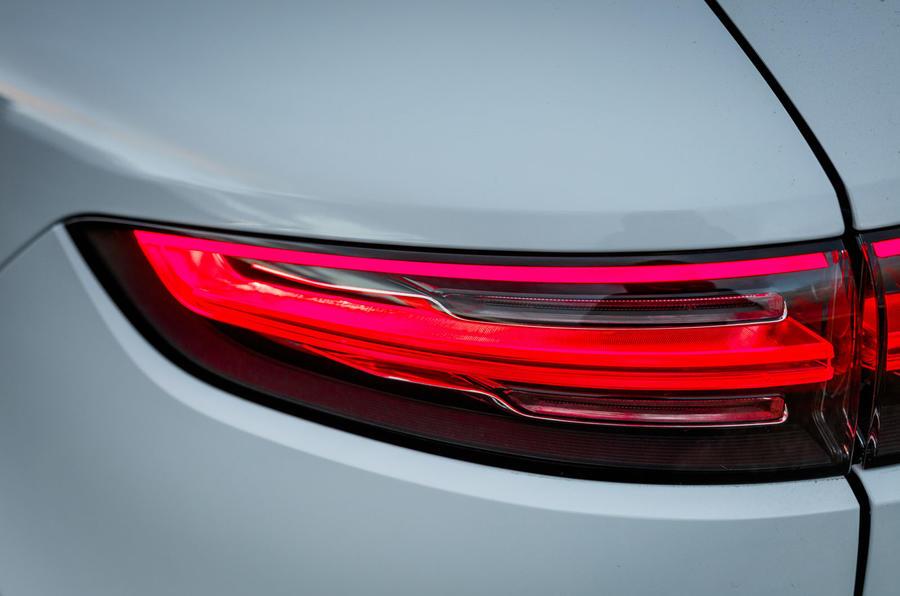 Porsche Cayenne Turbo rear lights