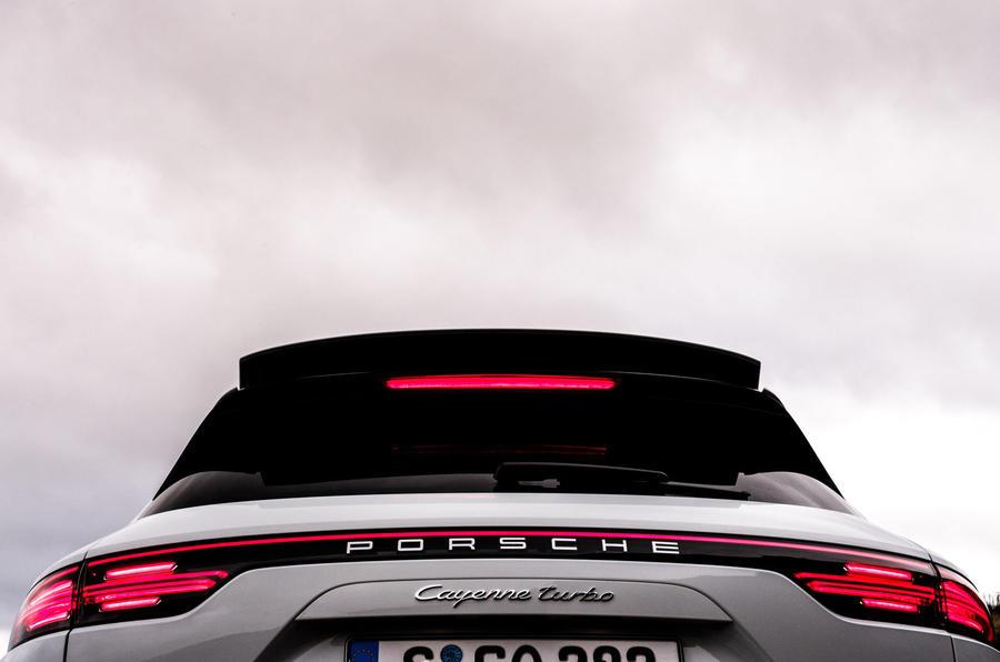 Porsche Cayenne Turbo rear end