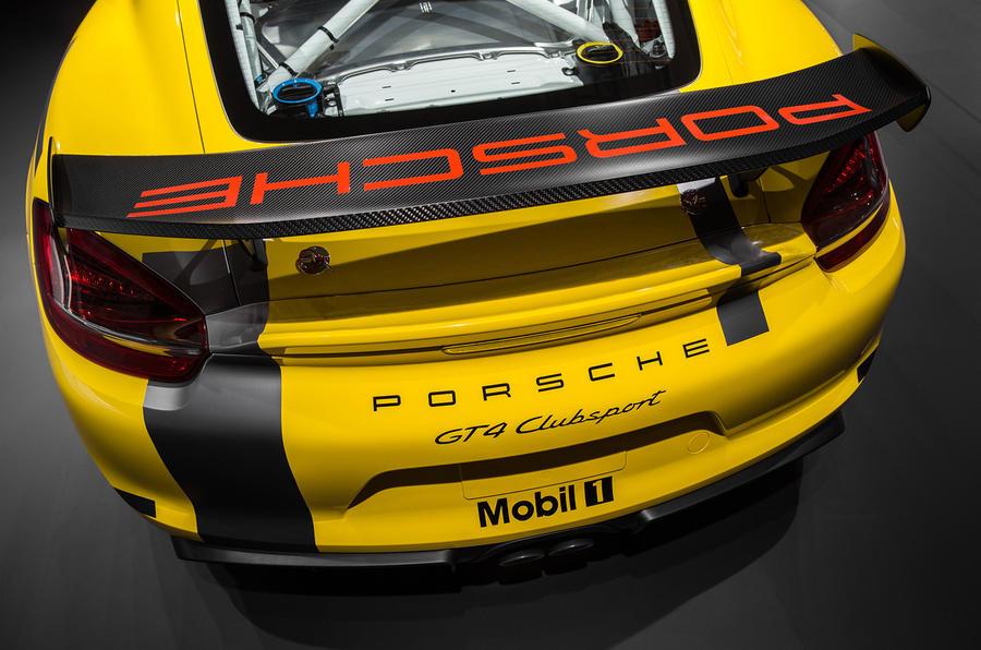 Porsche Cayman Gt Clubsport on Lightweight Race Car