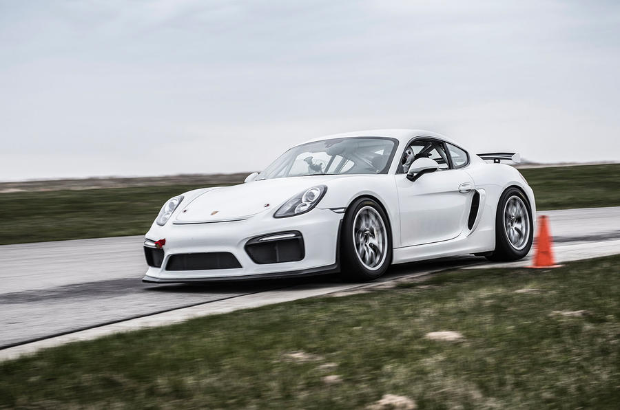 Porsche Cayman Gt4 Clubsport Behind The Wheel On Track