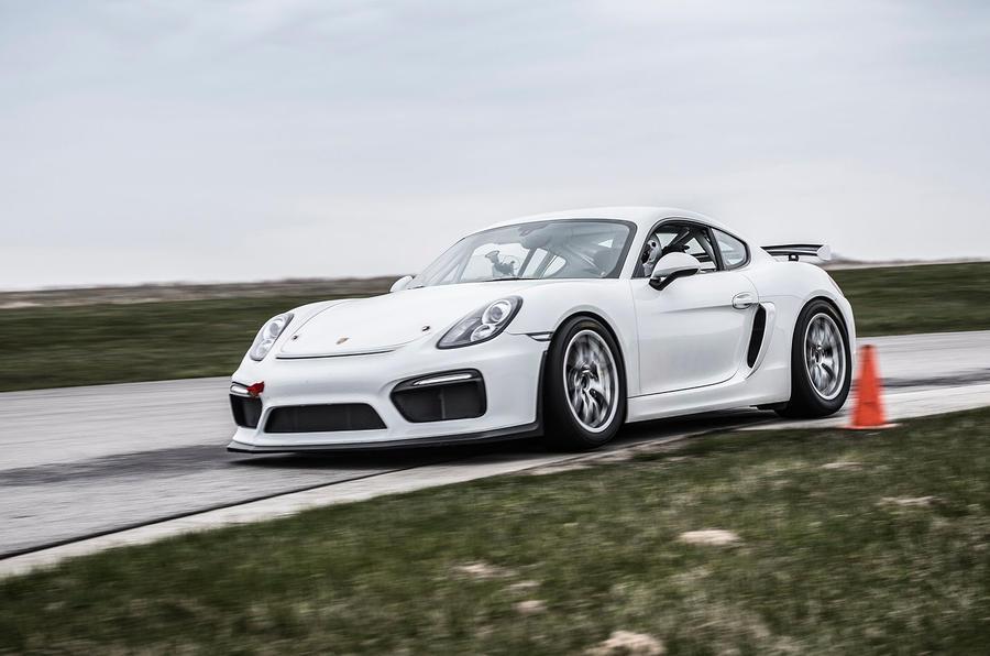 Porsche Cayman GT4 Clubsport: behind the wheel on track | Autocar