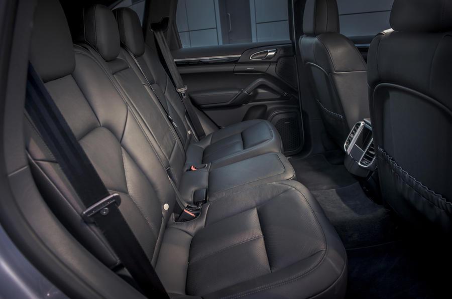 Porsche Cayenne S rear seats