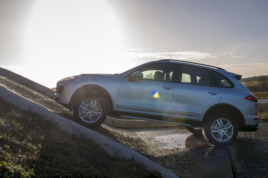Porsche Cayenne S serious off-roading