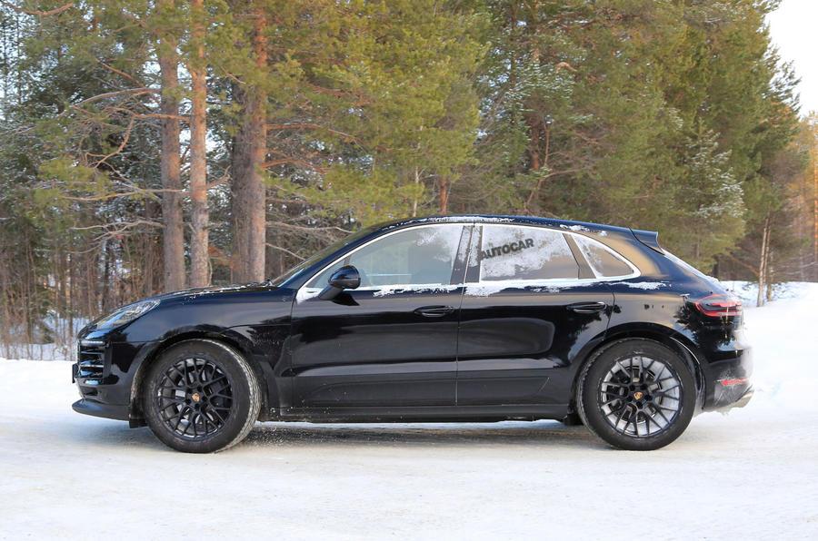Porsche Macan Facelift Latest Show