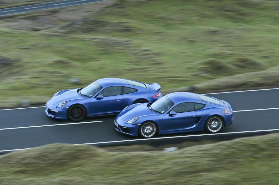 Porsche 911 Gt3 Versus 911 Gts And Cayman Gts Comparison