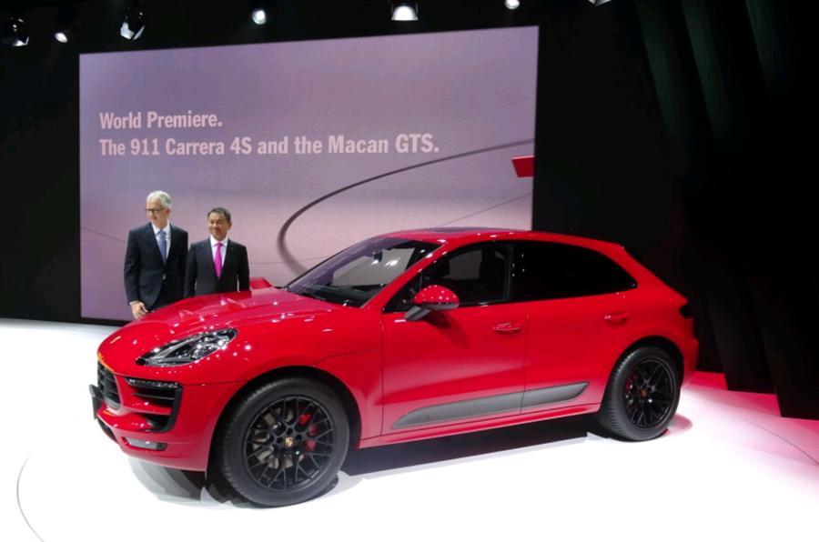 Porsche Macan Gts Makes Tokyo Debut Autocar